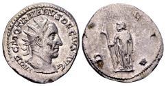 Ancient Coins - Trajan Decius AD 249-251, AR Antoninianus (22mm, 4.61 gram) Rome