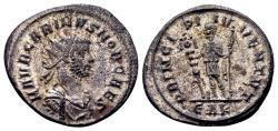 Ancient Coins - Carinus Caesar AD 283, AE silvered Antoninianus (22mm, 3.74 gram) Rome