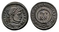Constantine the Great AD 307-337, AE Follis Arelate 321 / Ex Lückger