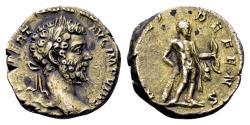 Ancient Coins - Septimius Severus AD 193-211, AR Denarius (17mm, 3.70 gram) Rome 197