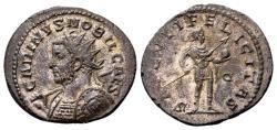 Ancient Coins - Carinus Caesar AD 282-283, AE silvered Antoninianus (24mm, 4.97 g) Lugdunum