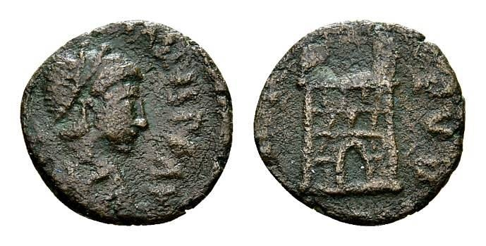 Ancient Coins - Valentinian III AD 425-455, AE4 (12mm, 0.95g) Rome