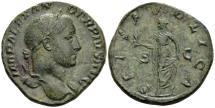 Ancient Coins - Severus Alexander AD 222-235, AE Sestertius (28mm, 18.35 gram) Rome