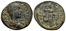 Ancient Coins - Phrygia, Eucarpia. Volusian AD 251-253, AE 24mm (5.89 g)
