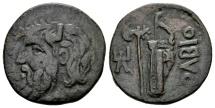 Ancient Coins - Sarmatia, Olbia. AE (24mm, 8.66 gram) c. 330-250 BC
