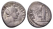 Ancient Coins - Arabia, Bostra. Trajan AD 98-117, AR Drachm (17mm, 3.37 g) dated AD 112