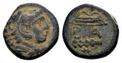 Ancient Coins - Macedonian Kingdom, Alexander the Great 336-323 BC, AE (18mm, 6.10 gram) Macedonian mint 325-310 BC