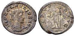 Ancient Coins - Claudius II Gothicus 268-270, AE silvered Antoninianus (20mm, 3.50 gram) Antioch