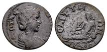 Ancient Coins - Lydia, Saitta. Otacilia Severa, wife of Philip I AD 244-249, AE 21mm (5.35 g)