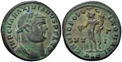Ancient Coins - Maximian AD 286-310, AE Follis (27mm, 11.07 gram) Alexandria c. AD 301