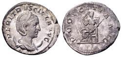 Ancient Coins - Herennia Etruscilla, wife of Trajan Decius AD 249-251, AR Antoninianus (23mm, 2.48 gram) Rome