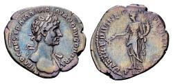 Ancient Coins - Hadrian AD 117-138, AR Denarius (20mm, 2.93 gram) Rome 117