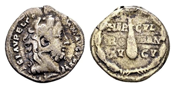 Ancient Coins - Commodus AD 177-192, AR Denarius Rome / Ex Lückger
