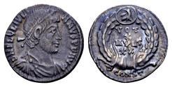 Ancient Coins - Ex East Harptree hoard - Julian II AD 360-363, AR Siliqua (17mm, 2.23 gram) Arelate