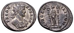 Ancient Coins - Probus AD 276-282, AE silvered Antoninianus (23mm, 5.25 gram) Rome