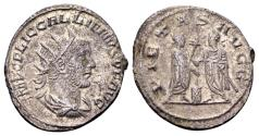 Ancient Coins - Gallienus AD 253-268, AR Antoninianus (21mm, 3.57 gram) Antioch