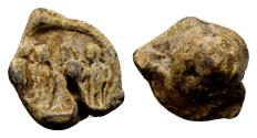 Ancient Coins - First Tetrarchy AD 293-305. Roman imperial seal (14x15x9 mm, 5.54 gram)