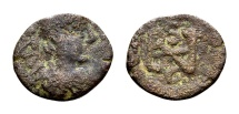 Ancient Coins - Ostrogoths. Athalaric AD 530-534, AE 2 ½ Nummi (11mm, 0.83 g) Rome