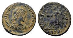 Ancient Coins - Valentinianus II AD 367-383, AE3 (18mm, 2.32 gram) Antioch 378-383