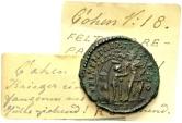 Constans AD 337-350, AE Centenionalis (21/22mm, 3.33 g) Rome AD 348-50