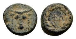 Ancient Coins - Phokis, Phokian league. AE (13mm, 2.48 gram) c. 4th-3rd century BC