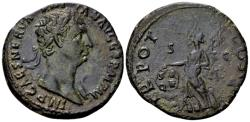 Ancient Coins - Trajan AD 98-117, AE As (27mm, 8.88 gram) Rome