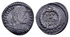 Ancient Coins - Ex East Harptree hoard - Julian II AD 360-363, AR Siliqua (17mm, 1.98 gram) Arelate