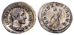 Ancient Coins - Maximinus I AD 235-238, AR Denarius (20mm, 2.98 gram) Rome