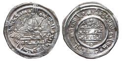 World Coins - MUHAMMAD II. AR, Dirham. 400 AH. Al-Andalus mint. CALIPHATE OF CÓRDOBA.