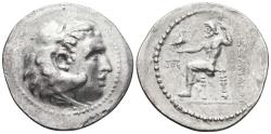 Ancient Coins - WESTERN ASIA MINOR. Ar, Tetradrachm. 240-180 BC. In the name and types of Alexander III of Macedon. Uncertain mint.