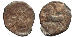 Ancient Coins - KINGS OF NUMIDIA. Pb Unit. Massinissa or Micipsa. 148-118 BC.