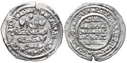 World Coins - HISHAM II. AR, Dirham. 398 AH. Al-andalus mint. CALIPHATE OF CÓRDOBA (Spain).