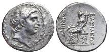 Ancient Coins - DEMETRIOS I SOTER. AR, Tetradrachm. 162-150 BC. Antioch mint. SELEUKID KINGS of SYRIA.