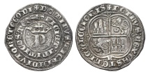 """World Coins - PEDRO I """"The Cruel"""". Ag, Real. 1350 - 1368 Burgos mint. MEDIEVAL SPAIN."""