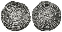 World Coins - AL-MU´IZZ. (Fatimids). 1/2 Dirham. AH 353. Al-Mansuriya mint.