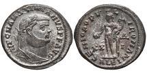 Ancient Coins - MAXIMIANUS. Æ, Follis. 286-305 AD. Alexandria mint. Genio. EX. DATTARI COLLECTION.
