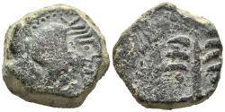 Ancient Coins - NORTH AFRICA. Carthage Æ Double Unit. Uncertain Spanish mint under Carthaginian occupation, circa 237-209 BC.