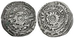 World Coins - AL-MU´IZZ. (Fatimids). 1/2 Dirham. AH 358. Al-Mansuriya mint.
