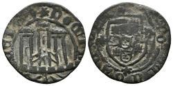 World Coins - PORTUGAL. D. Alfonso V. (1438-1481). Ceitil. Variant of legend and art. Gomes 10.04 var.