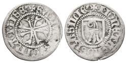 World Coins - SWITZERLAND-BASEL. Ar, Vierer. (1425-1500). HMZ 2-55 b.