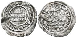 World Coins - HISHAM II citing Sa'id Ibn Yusuf IA. AR, Dirham. AH 402, 2nd reign. Al-andalus mint. CALIPHATE OF CÓRDOBA (Spain).