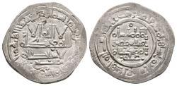 World Coins - HISHAM II. Ar, Dirham. 392 AH. Al-Andalus. Citing Tamliy in IA &´Amir in IIA. CALIPHATE OF CÓRDOBA.