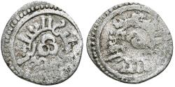 World Coins - ALMORAVIDS TAIFAS. Ar, Quirat. In the name of Al-Abbasi. Baeza mint?. Vives - ; Hazard - ; FB-Q9. RARE.