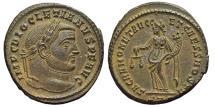 Ancient Coins - DIOCLETIAN. Æ, Follis. 284-305 AD. Ticinum mint ST. Moneta. EX. DATTARI COLLECTION.