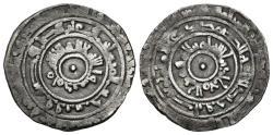 World Coins - AL-MU´IZZ. (Fatimids). 1/2 Dirham. AH 356. Al-Mansuriya mint.