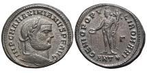 Ancient Coins - MAXIMIANUS. Æ, Follis. 299-300 AD. Antiochia mint (ANT*). Genio. EX. DATTARI COLLECTION.