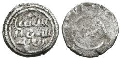 World Coins - ALÍ IBN YUSUF with TASHFIN. Ar, 1/2 Quirat. AH 533-537. ALMORAVIDS (Spain). RARE.