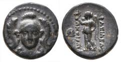 Ancient Coins - ANTIOCHOS I SOTER (Seleukid Empire). Ae14. 281-261 BC. Smyrna or Sardes mint.