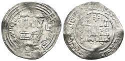 World Coins - ABD AL-RAHMAN III. AR, Dirham. 331 AH. Al-Andalus mint. CALIPHATE OF CÓRDOBA.