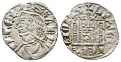 World Coins - SANCHO IV (1284-1295). Cornado. Toledo mint (T on the castle gate, Star-Star). Medieval Spain.